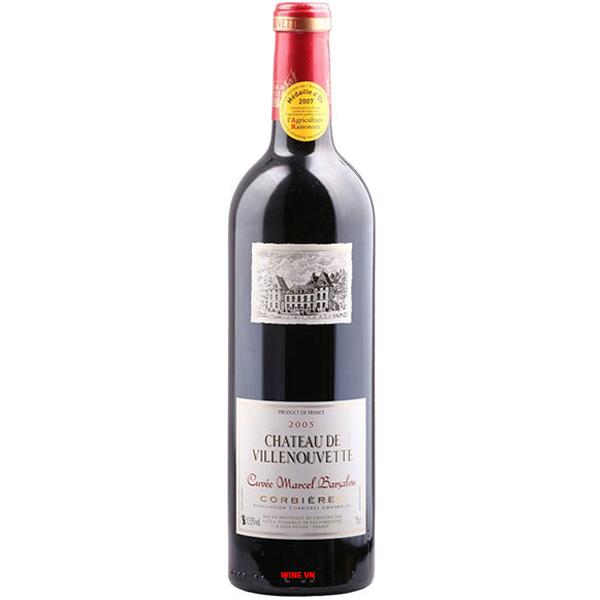 Rượu Vang Chateau De Villenouvette Corbieres