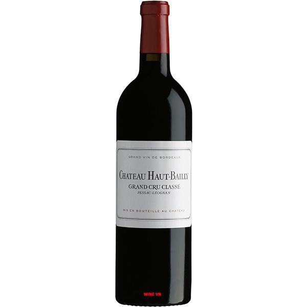 Rượu Vang Chateau Haut Bailly