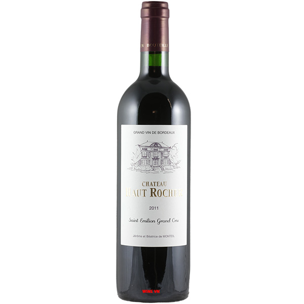 Rượu Vang Chateau Haut Rocher Saint Emilion Grand Cru