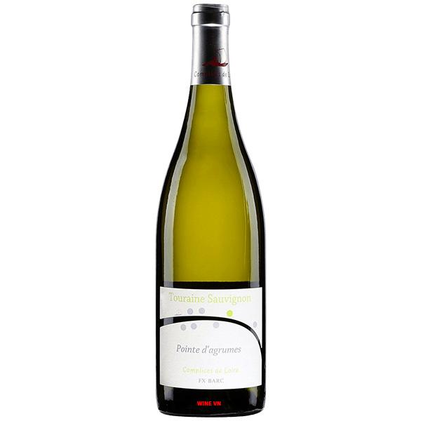 Rượu Vang Complices De Loire Pointe d'Agrumes Sauvignon Blanc