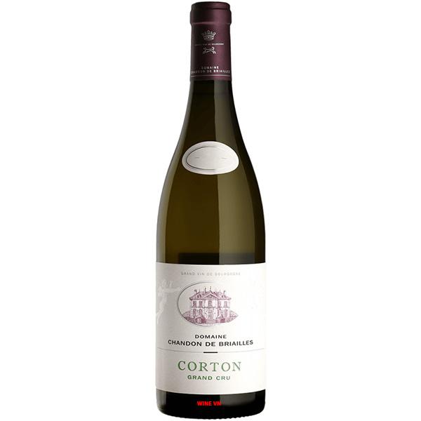 Rượu Vang Domaine Chandon De Briailles Corton Grand Cru