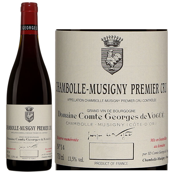 Rượu Vang Domaine Comte Georges De Vogue Chambolle Musigny