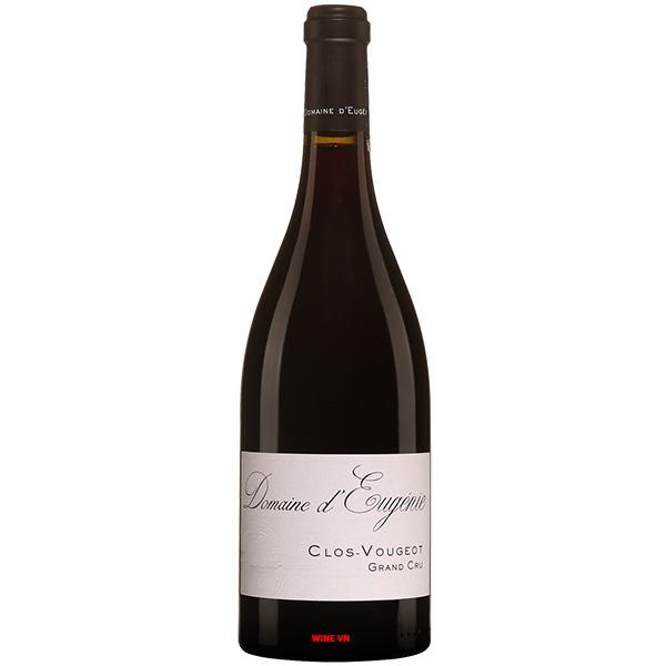 Rượu Vang Domaine D'Eugénie Clos Vougeot