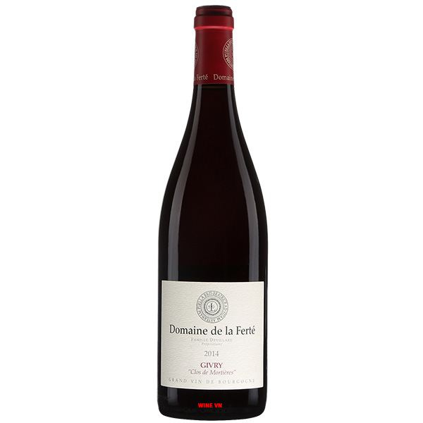 Rượu Vang Domaine De La Ferte Clos De Mortieres Givry