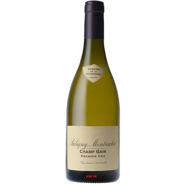 Rượu Vang Domaine De La Vougeraie Puligny Montrachet Champ Gain