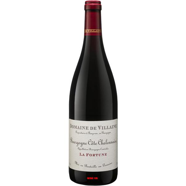 Rượu Vang Domaine De Villaine Bourgogne Cote Chalonnaise La Fortune