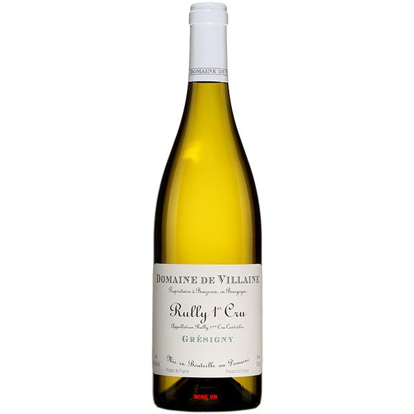 Rượu Vang Domaine De Villaine Gresigny Rully 1Er Cru