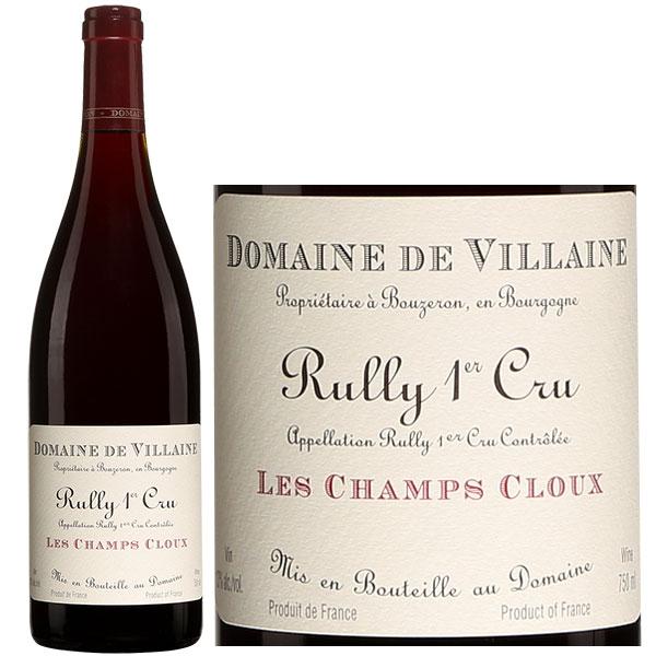 Rượu Vang Domaine De Villaine Rully 1Er Cru Les Champs Cloux