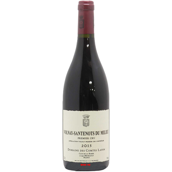 Rượu Vang Domaine Des Comtes Lafon Volnay Santenots Du Milieu