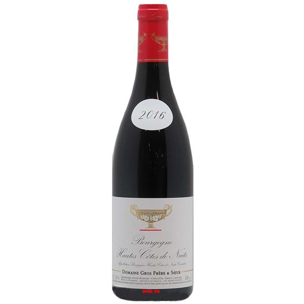 Rượu Vang Domaine Gros Frere & Sœur Bourgogne Hautes Cotes De Nuits