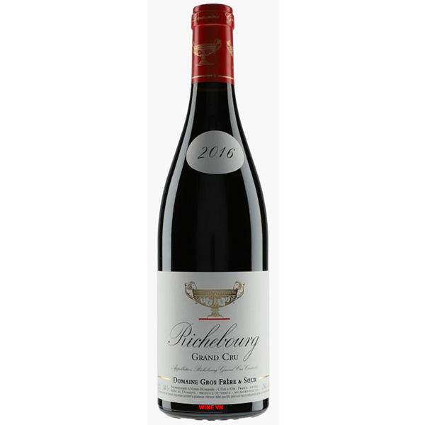 Rượu Vang Domaine Gros Frere et Soeur Richebourg