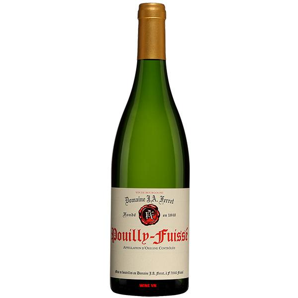 Rượu Vang Domaine J.A. Ferret Pouilly Fuisse