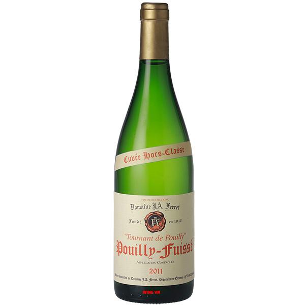 Rượu Vang Domaine J.A. Ferret Tournant De Pouilly Pouilly Fuisse