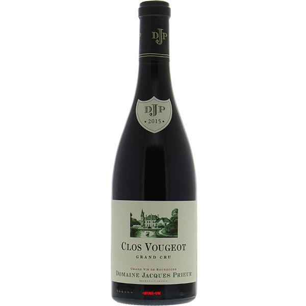 Rượu Vang Domaine Jacques Prieur Clos Vougeot Grand Cru