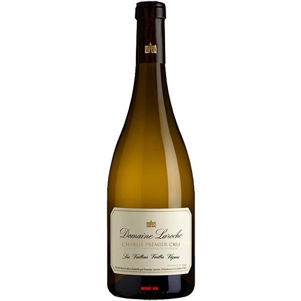 Rượu Vang Domaine Laroche Les Vaillons Vieilles Vignes