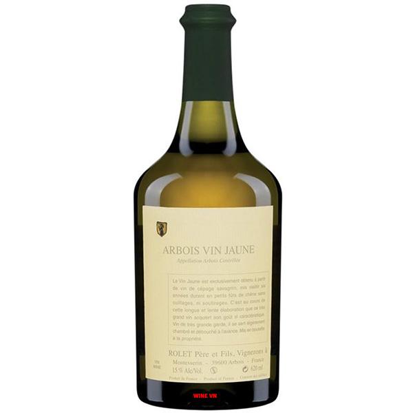 Rượu Vang Domaine Rolet Arbois Vin Jaune