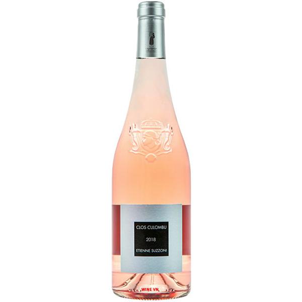 Rượu Vang Etienne Suzzoni Clos Culombu Rose
