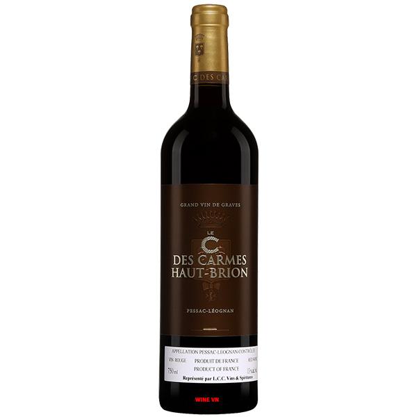 Rượu Vang Le C Des Carmes Haut Brion