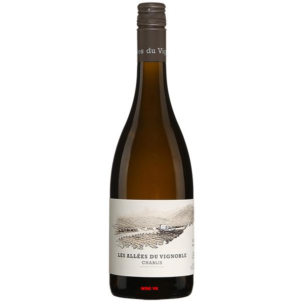 Rượu Vang Les Allees Du Vignoble Chablis