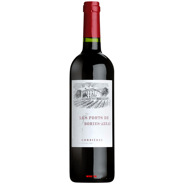 Rượu Vang Les Forts Bories Azeau Corbieres
