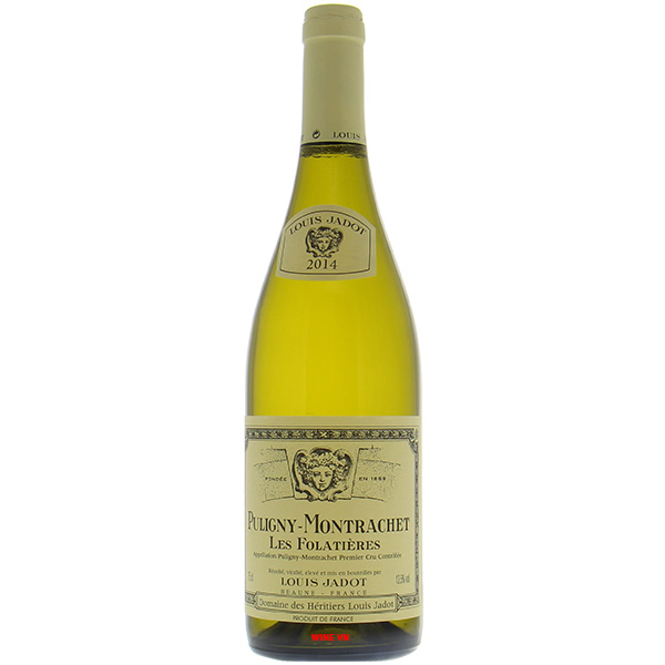 Rượu Vang Louis Jadot Puligny Montrachet Les Folatieres