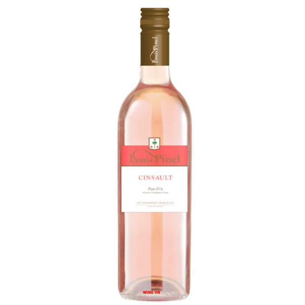 Rượu Vang Louis Pinel Cinsault Rose