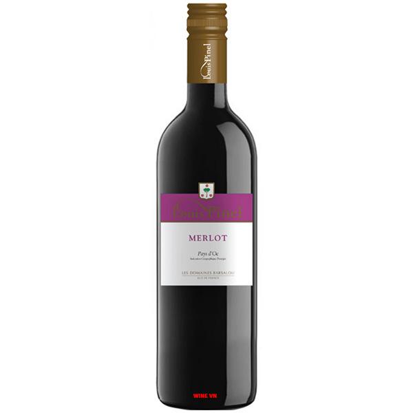 Rượu Vang Louis Pinel Merlot