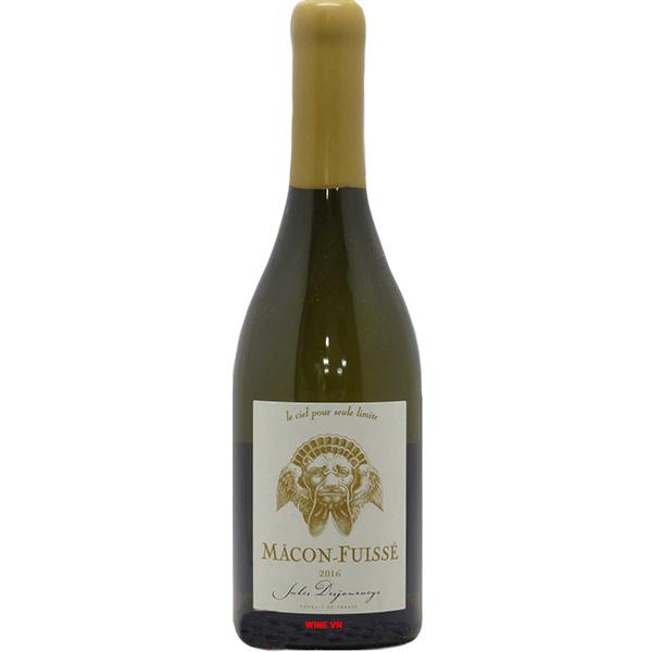 Rượu Vang Macon Fuisse Bois De La Croix