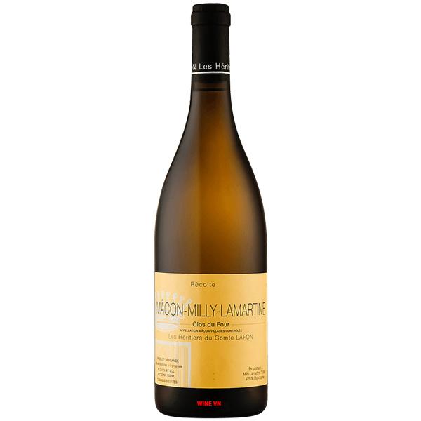 Rượu Vang Macon Milly Lamartine Clos Du Four