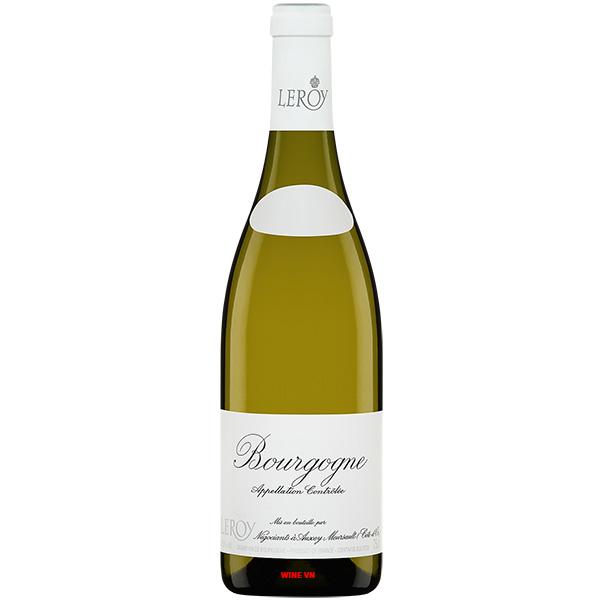 Rượu Vang Maison Leroy Bourgogne Blanc