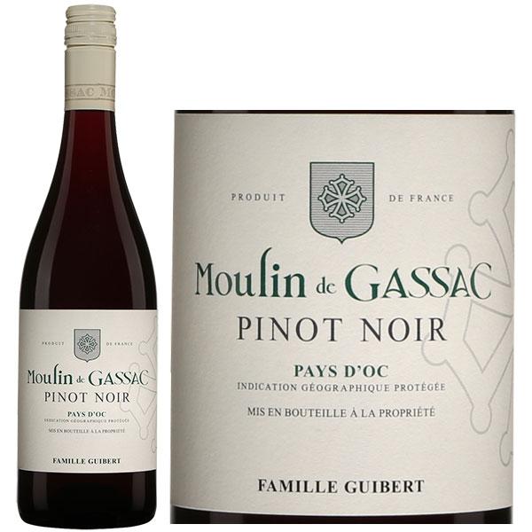 Rượu Vang Moulin De Gassac Pinot Noir