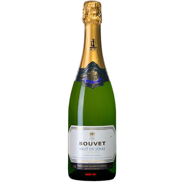 Rượu Vang Nổ Bouvet Brut De Loire Saumur