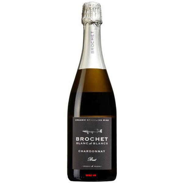 Rượu Vang Nổ Brochet Blanc De Blancs Chardonnnay