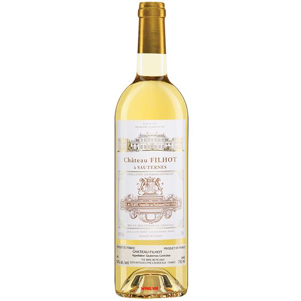 Rượu Vang Ngọt Chateau Filhot Sauternes