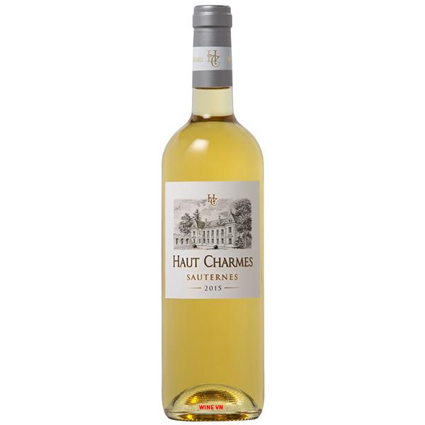 Rượu Vang Ngọt Haut Charmes Sauternes