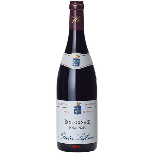 Rượu Vang Olivier Leflaive Bourgogne Pinot Noir