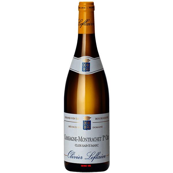 Rượu Vang Olivier Leflaive Chassagne Montrachet Clos Saint Marc