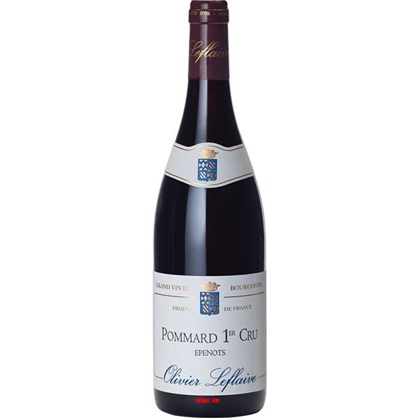 Rượu Vang Olivier Leflaive Pommard 1st Cru Epenots