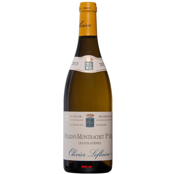 Rượu Vang Olivier Leflaive Puligny Montrachet Les Folatieres