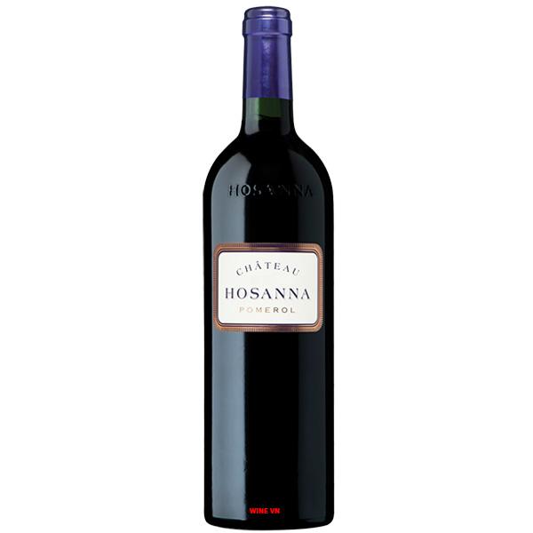 Rượu Vang Pháp Chateau Hosanna Pomerol