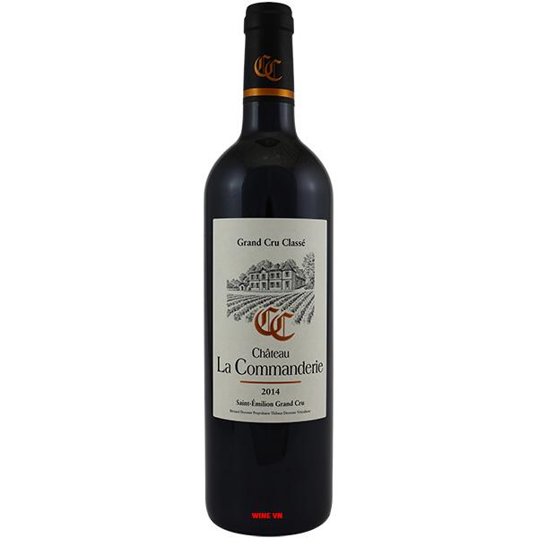 Rượu Vang Pháp Chateau La Commanderie