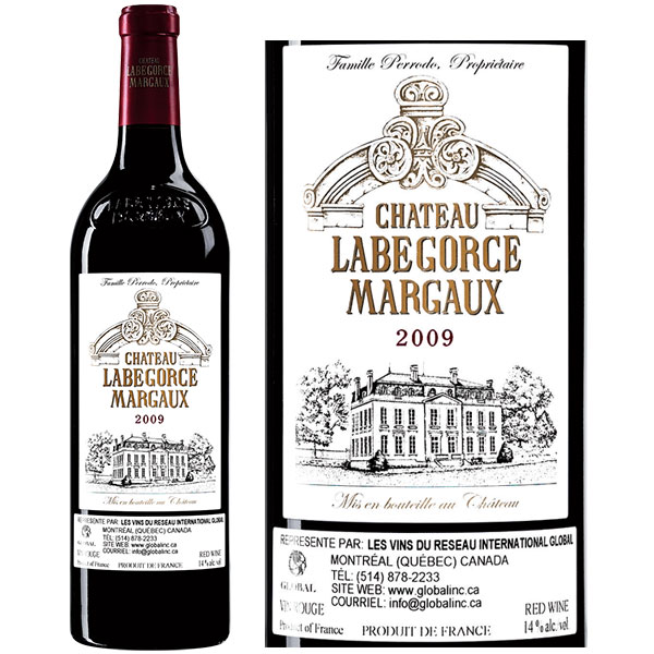 Rượu Vang Pháp Chateau Labegorce
