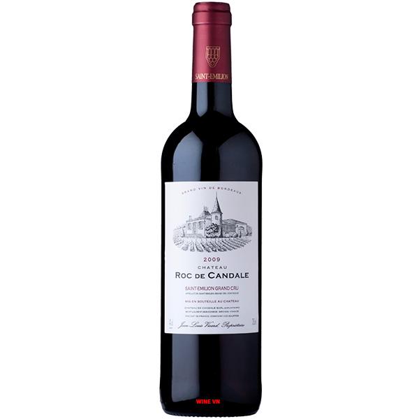 Rượu Vang Pháp Chateau Roc De Candale