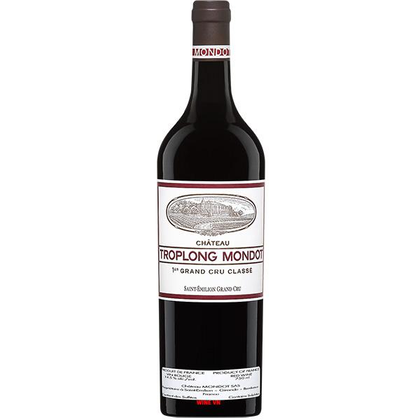 Rượu Vang Pháp Chateau Troplong Mondot