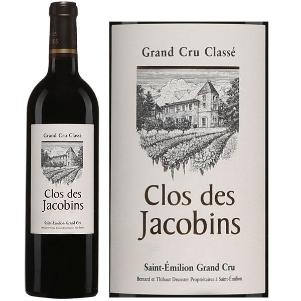 Rượu Vang Pháp Clos Des Jacobins