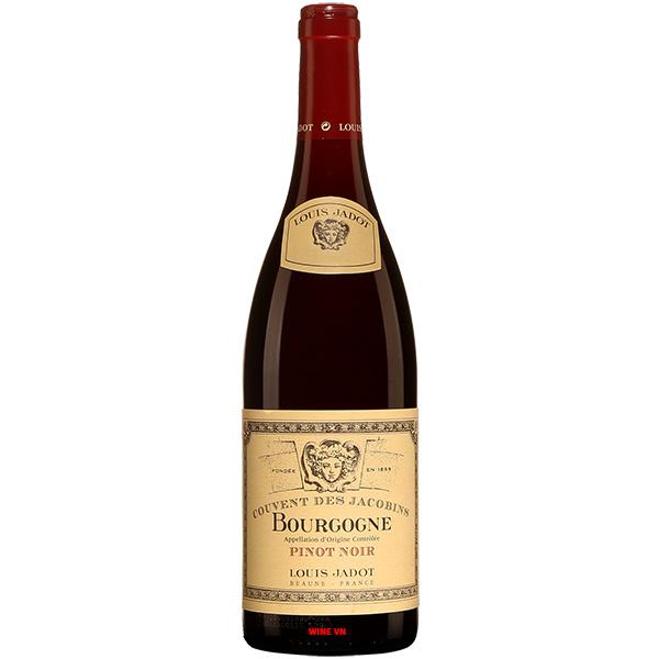Rượu Vang Pháp Louis Jadot Couvent Des Jacobins Pinot Noir Bourgogne