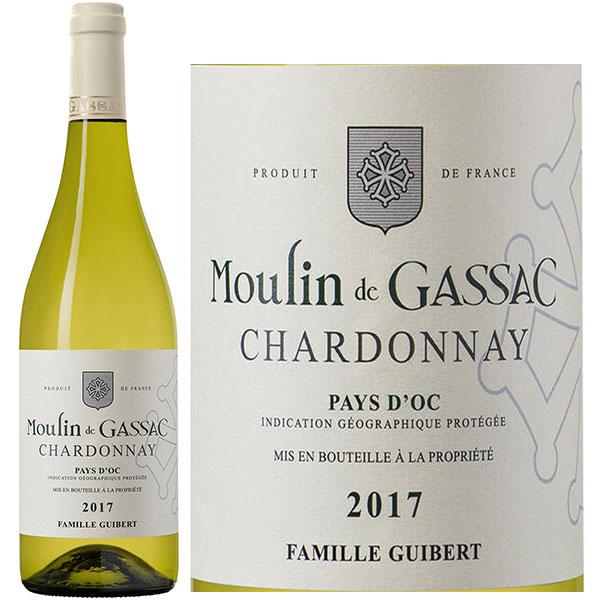 Rượu Vang Pháp Moulin De Gassac Chardonnay