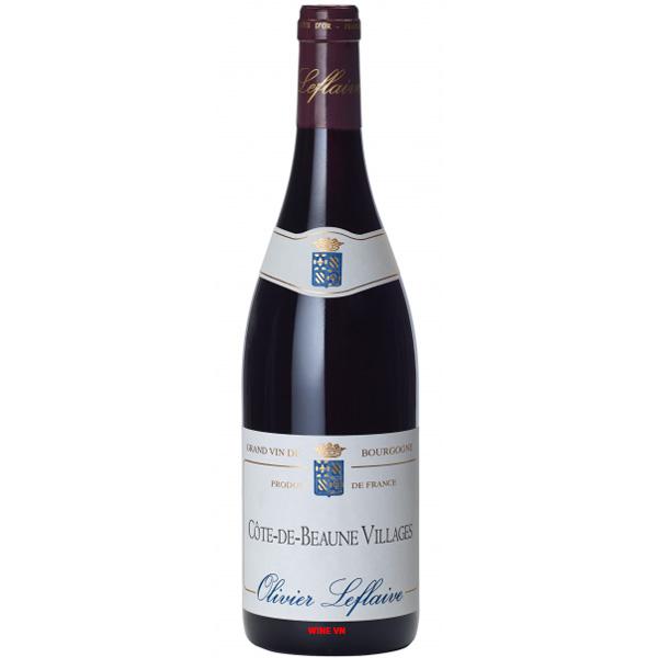 Rượu Vang Pháp Olivier Leflaive Cote De Beaune Villages