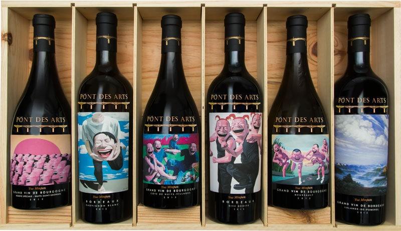 Rượu Vang Pont Des Arts Reserve Speciale Yue Minjun