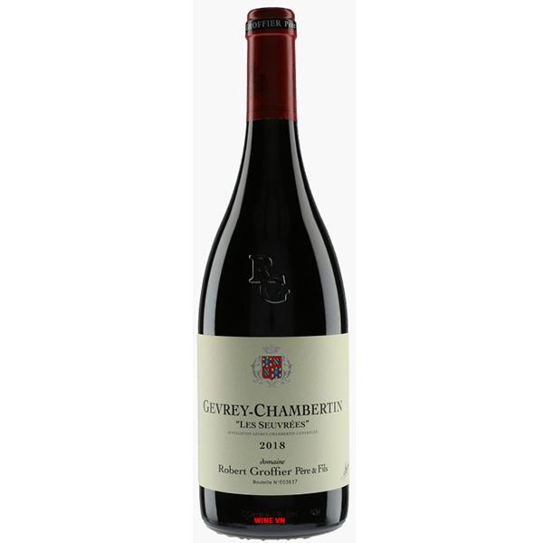 Rượu Vang Robert Groffier Pere & Fils Les Seuvrees Gevrey Chambertin